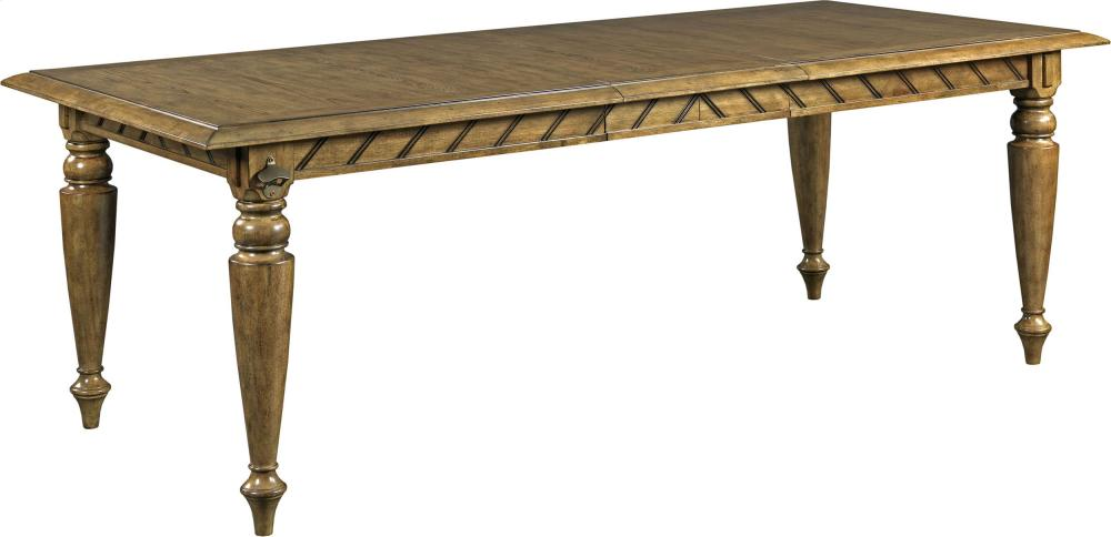 Captivating New Vintage Chevron Dining Table