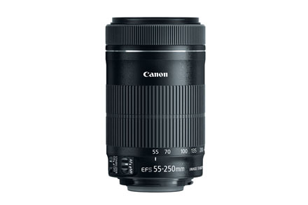 Canon EF-S 55-250mm f/4-5.6 IS STM Standard Zoom Lens