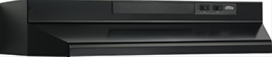 "24"" Convertible Range Hood, Black"