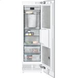 "400 series Vario freezer 400 series Niche width 24"" (61 cm) Fully integrated, panel ready, with ice and water dispenser"