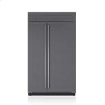 Sub ZeroSub Zero 48&quot Classic Side-by-Side Refrigerator/Freezer with Internal Dispenser - Panel Ready