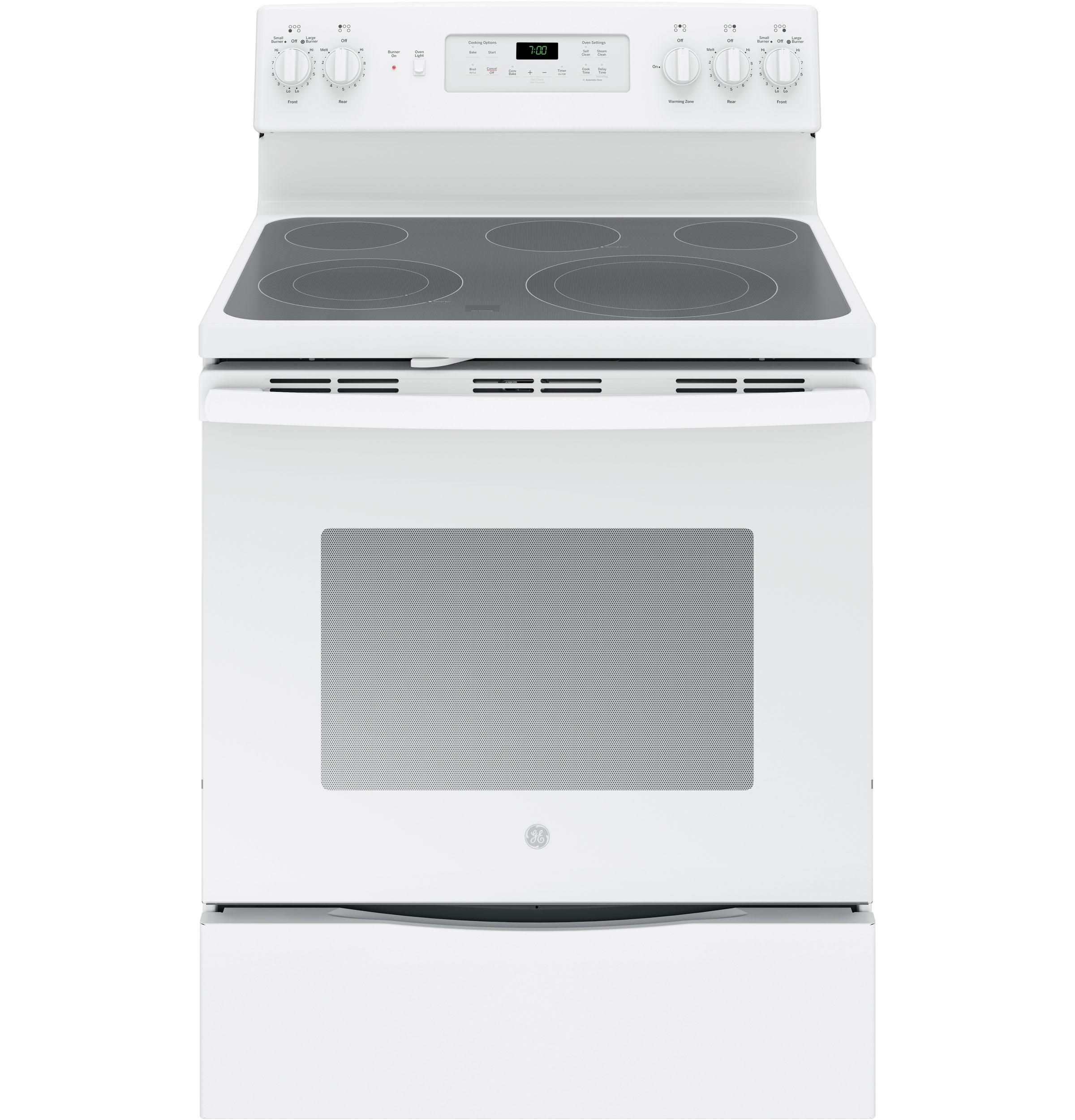 "GE(R) 30"" Free-Standing Electric Convection Range