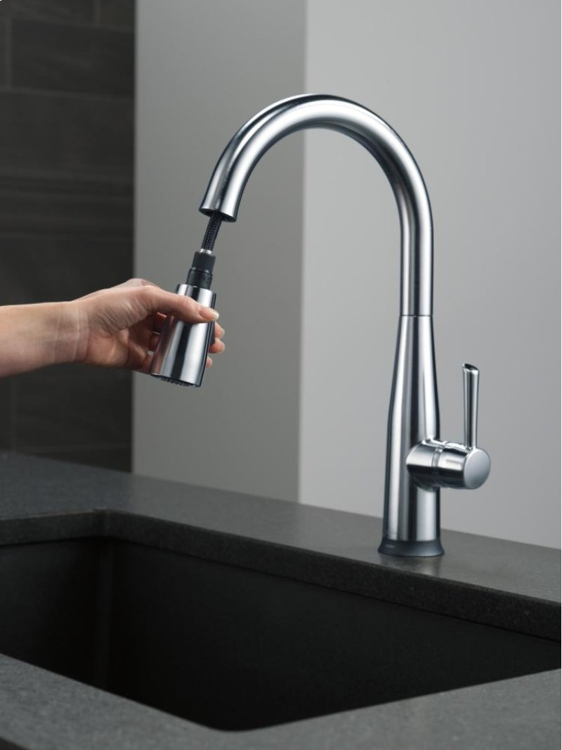 9113tardst in arctic stainless by delta faucet company in atlanta hidden additional arctic stainless single handle pull down kitchen faucet with touch 2 o technology