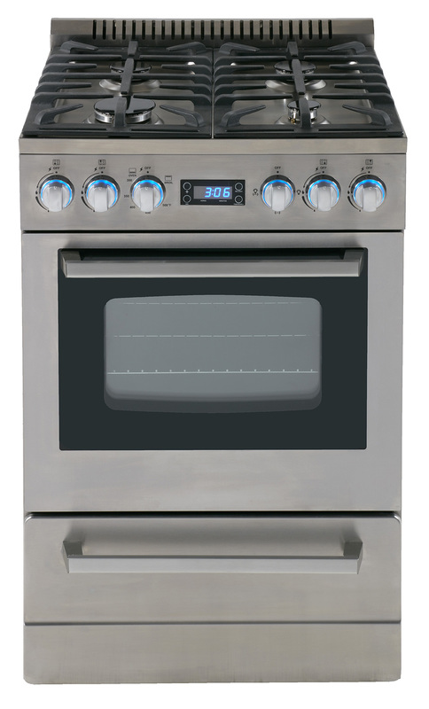 "24"" Deluxe Gas Range - Elite Series