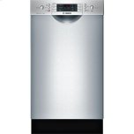 "Bosch18"" Special Application Recessed Handle Dishwasher 800 Series"