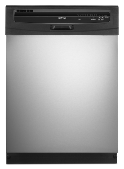 MaytagStainless Steel Maytag(R) Jetclean(R) Plus Dishwasher with High Temperature Wash Option