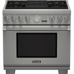 Thermador36 inch Professional Series Pro Grand Commercial Depth Liquid Propane Range PRL364NLG