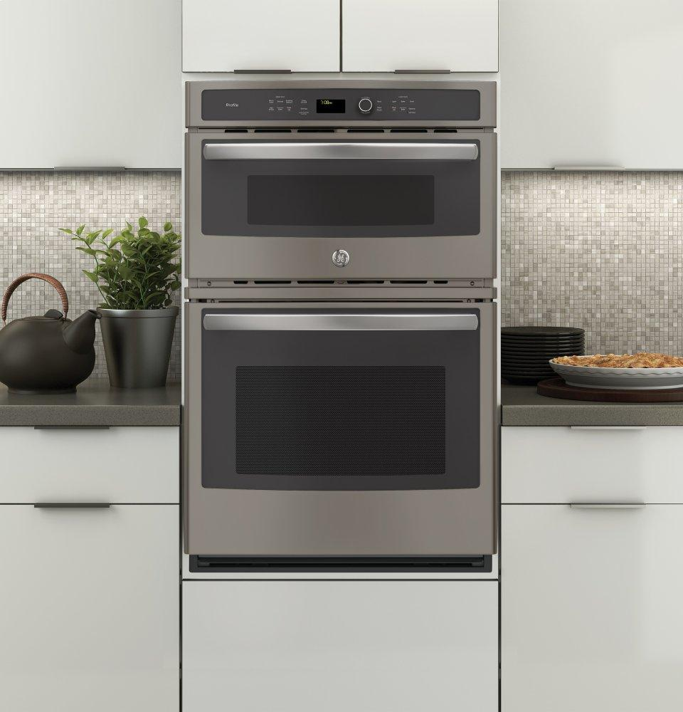 Ge Profile Ovens Electric Oven Microwave Combo Slate