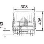 BlancoCrockery Basket - 507829