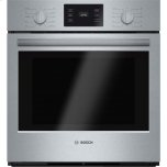 """Bosch27"""" Single Wall Oven 500 Series - Stainless Steel"""
