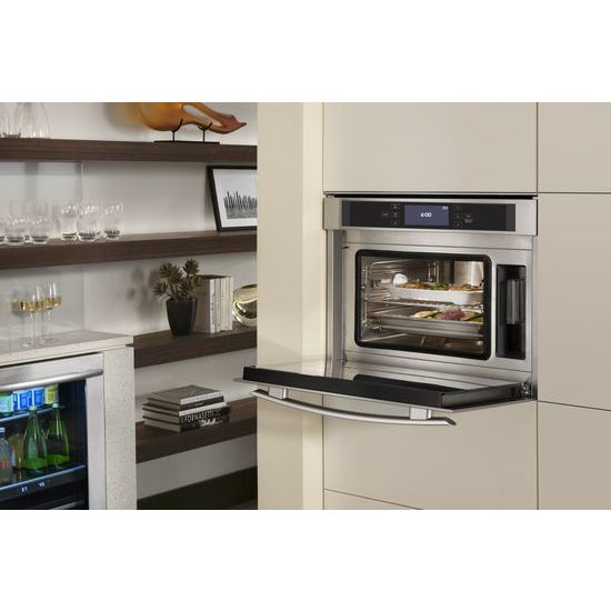 additional 24inch steam and convection wall oven hidden additional