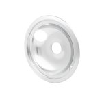 FrigidaireSmart Choice 8'' Chrome Drip Bowl, Fits Specific