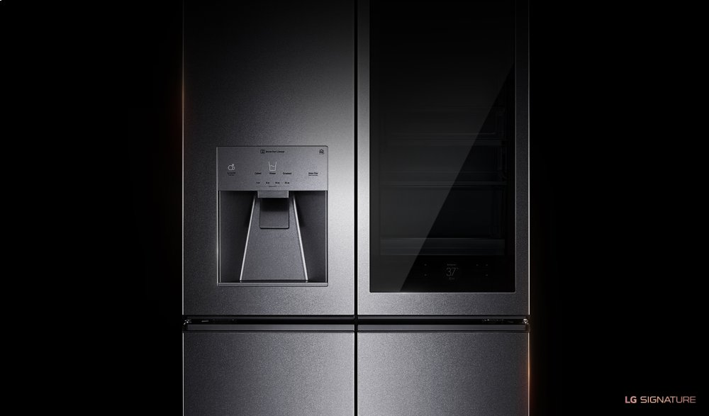 LG SIGNATURE 31 cu. ft. InstaView Door-in-Door(R) Refrigerator