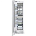 "GaggenauFreezer column RF 411 701 Fully integrated appliance Width 18"" (45.7 cm)"