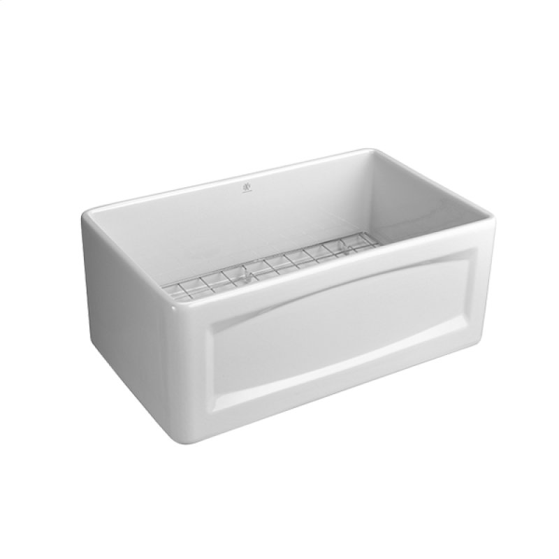 24 Inch Apron Sink : ... in Vancouver, BC - Hillside 24 Inch Apron Kitchen Sink - Canvas White
