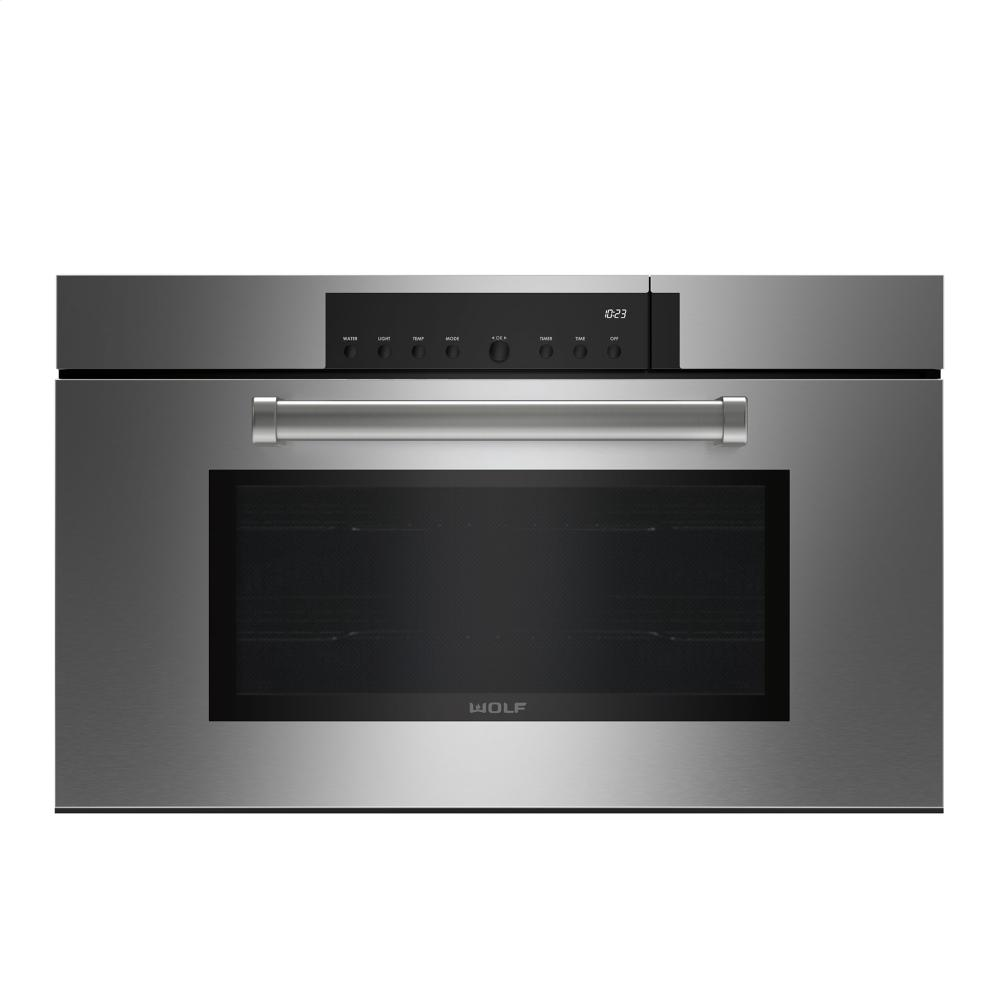wolf ovens steam ovens stainless steel cso30pmsph