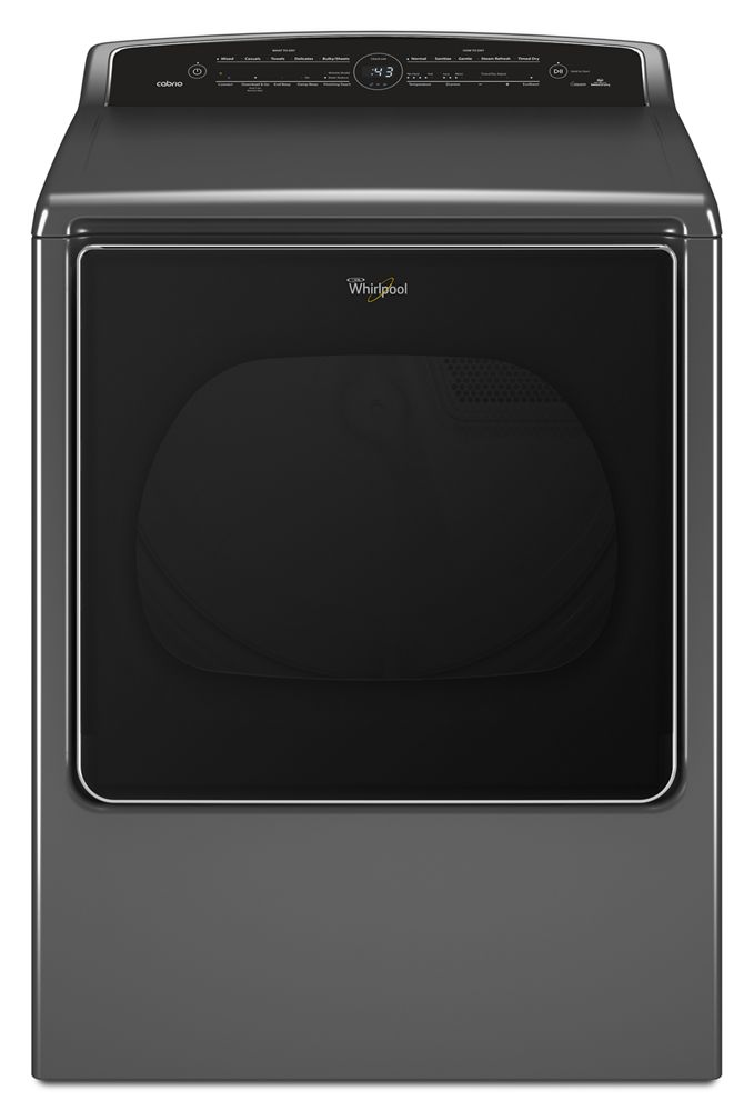 8.8 Cu. Ft. Front Load Electric Dryer with Remote Control