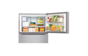 "24 cu. ft. Large Capacity 33"" Wide Top Mount Refrigerator"