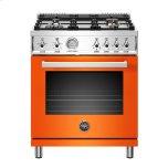 "Bertazzoni30"" Professional Series range - Gas oven - 4 brass burners"