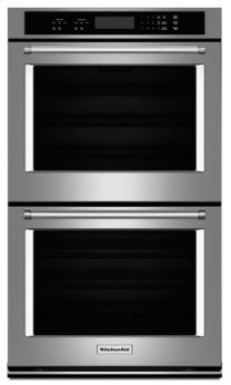 "27"" Double Wall Oven with Even-Heat(TM) Thermal Bake/Broil - Stainless Steel"
