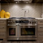 "DacorDiscovery 48"" Gas Range,, in Stainless Steel with Natural Gas"