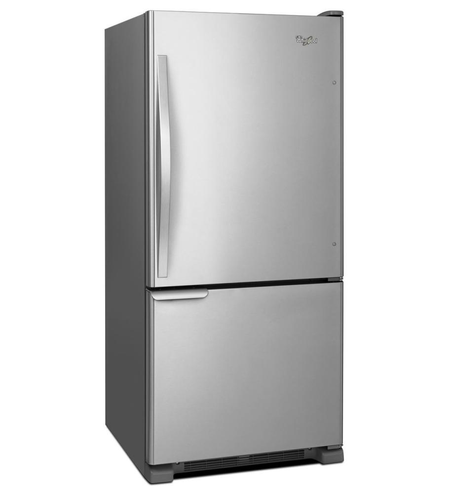 Wrb119wfbw whirlpool 30 inches wide bottom freezer - Whirlpool discount ...