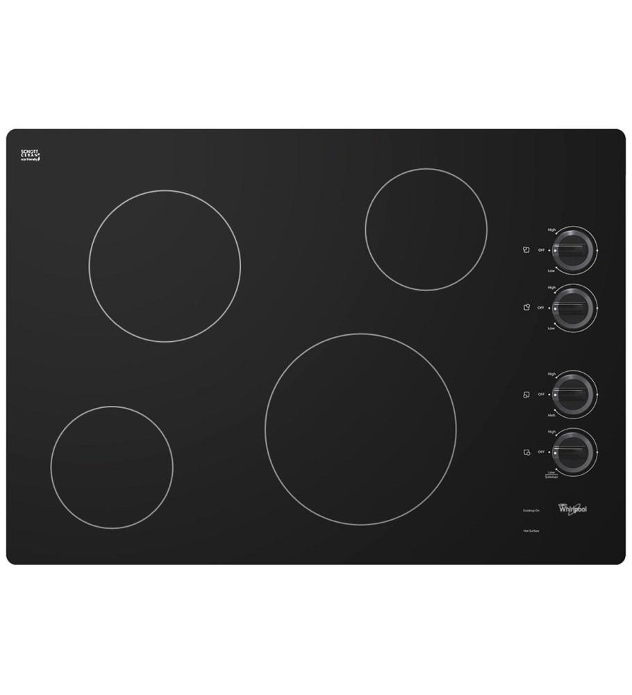 Discount Electric Cooktops 30 In ~ W ce xs whirlpool