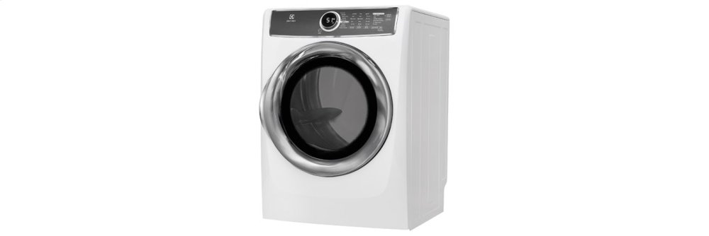 Front Load Perfect Steam(TM) Electric Dryer with Instant Refresh and 9 cycles - 8.0 Cu. Ft.