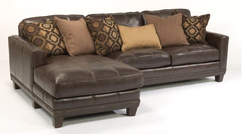 1373sect In By Flexsteel In Lethbridge Ab Port Royal Leather Sectional