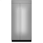 JENN-AIR42-inch Stainless Steel Panel Kit for Fully Integrated Built-In Side-by-Side Refrigerator