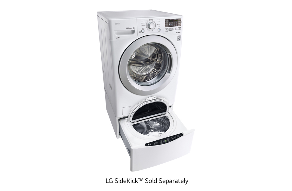 4.5 cu. ft. Ultra Large Capacity Front Load Washer with ColdWash Technology  White