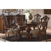 Pemberleigh - Round to Oval Pedestal Table Alternate Image