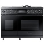 DacorDacor 48&quot - 6.6 Cu. Ft. Smart GreenClean Steam Convection Pro Dual-Fuel Range - LP, High Altitude