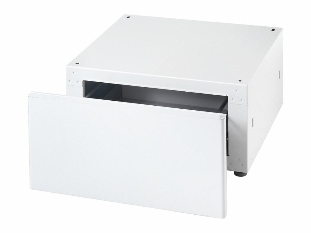 WTS 410 Built-under plinth with drawer for lots of storage space e.g. detergents