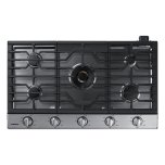 "Samsung36"" Gas Cooktop with 22K BTU True Dual Power Burner (2016)"