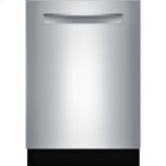 "Bosch24"" Pocket Handle Dishwasher 500 Series- Stainless steel"