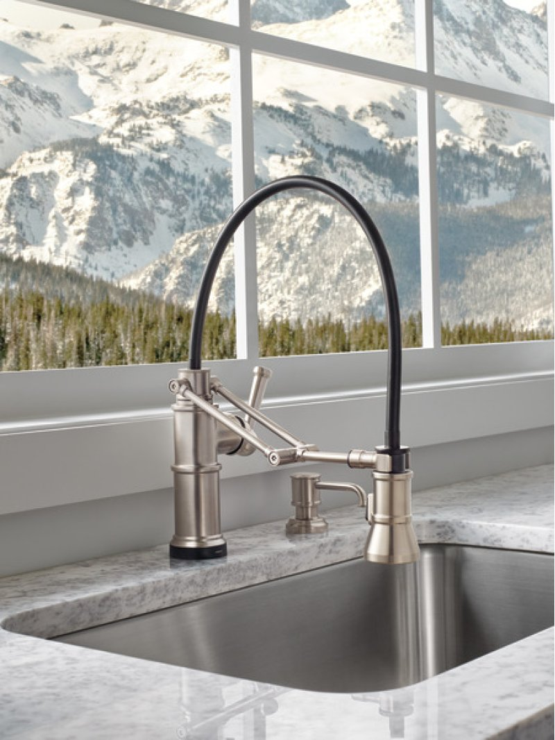 Articulating Kitchen Faucet 64225lfss In Stainless By Brizo In Atlanta Ga Smarttouch