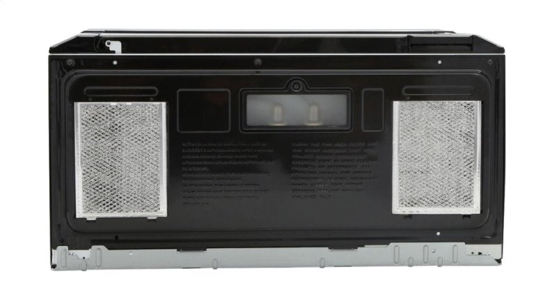 Hidden Additional Sharp Over The Range Carousel Microwave Oven 1 5 Cu Ft 1000w