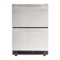 5.4 Cu. Ft. Built-in Undercounter Dual Drawer Refrigerator