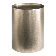Accents Round Antique Nickel Pedestal Product Image