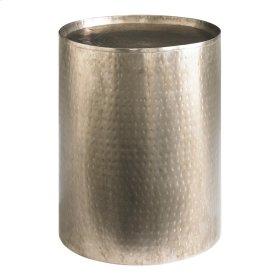 Accents Round Antique Nickel Pedestal