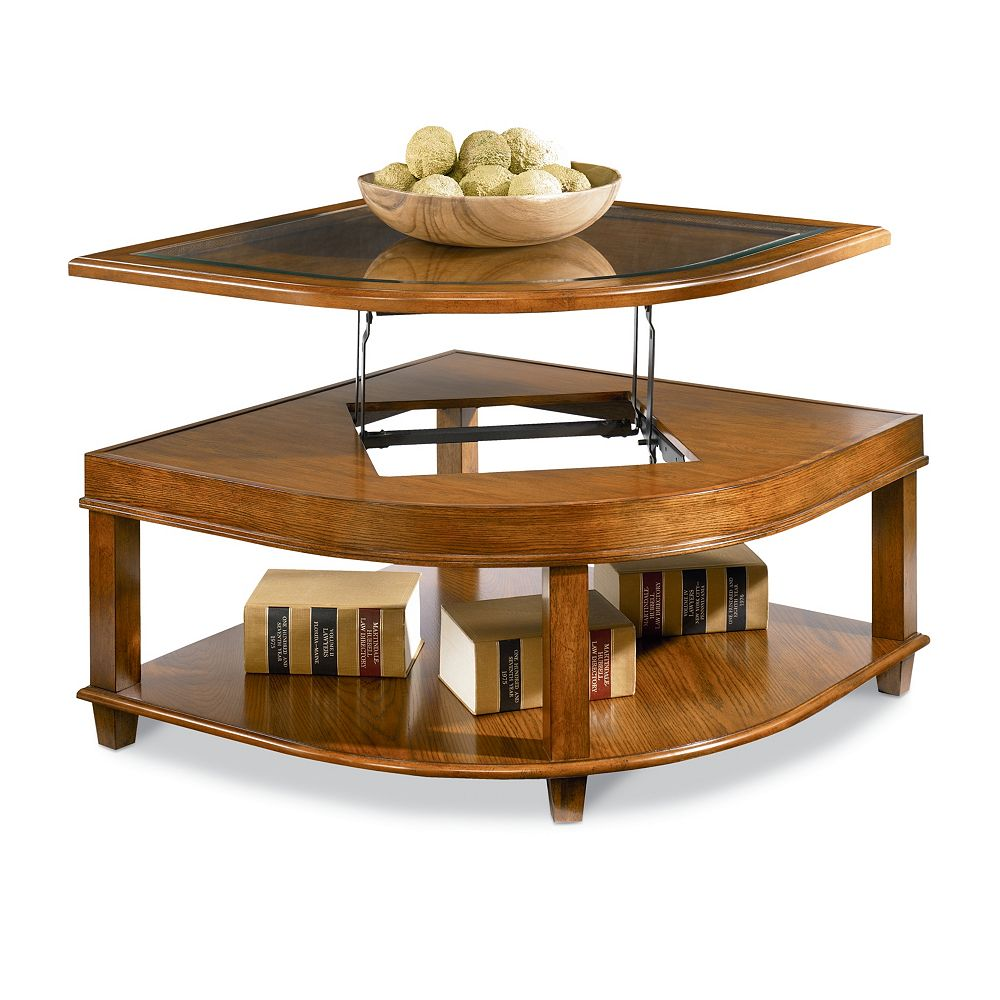 Hidden · Additional Collins Lift Top Wedge Coffee Table