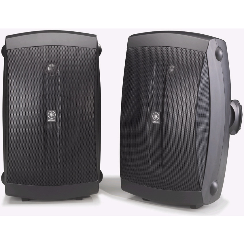 Black High Performance Outdoor 2-way Speakers
