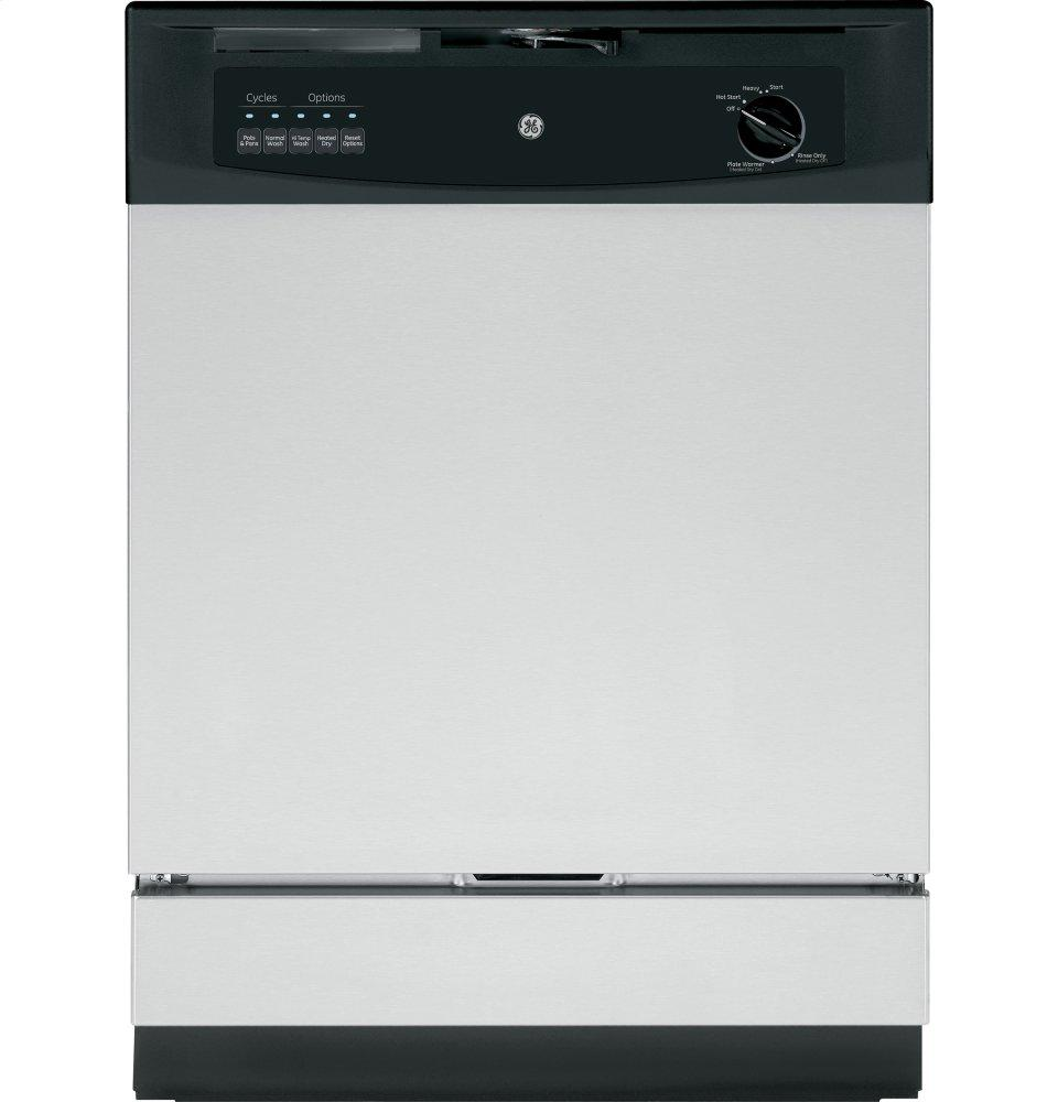 GE(R) Built-In Dishwasher with Power Cord