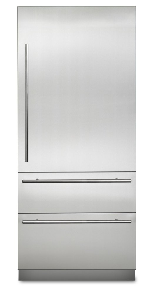 "COMING SOON: 36"" Virtuoso Fully Integrated Bottom-Freezer Refrigerator, Right Hinge/Left Handle