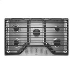 Whirlpool36 inch 5 Burner Gas Cooktop with EZ-2-Lift(TM) Hinged Cast-Iron Grates