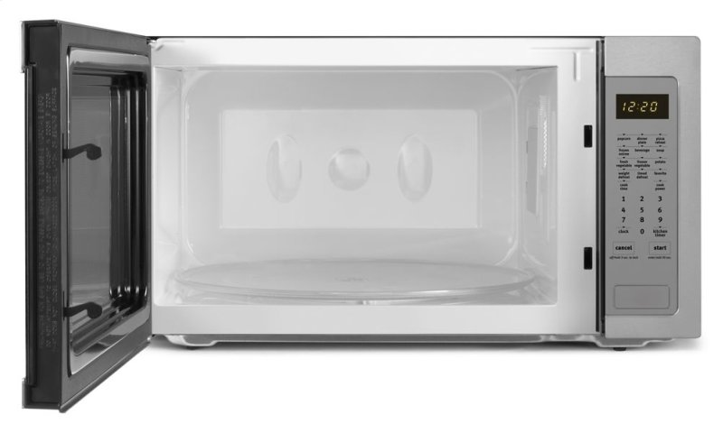 Additional 2.2 cu. ft. Countertop Microwave with Greater Capacity