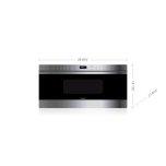 WolfWolf 1.2 CF 950W Microwave Oven Drawer