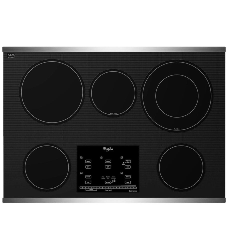 30 Inch Glass Cooktop ~ G ce xs whirlpool