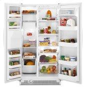 25 cu. ft. Side-by-Side Refrigerator with Full-Width Adjustable Slide-Out SpillGuard™ Glass Shelves Alternate Image
